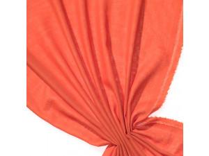 Fine Merino Etamine - ORANGE - width 148 cm, weight 115g/m2