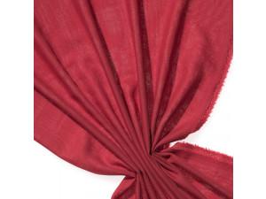 Fine Merino Etamine - RED - width 148 cm, weight 115g/m2