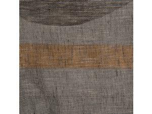DISCOUNT / Linen transparent fabric, BLACK, GREY, 110 g/m2, width 150 cm / 1m