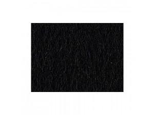 Wool Felt, BLACK - width 200 cm, thickness cca 3 mm