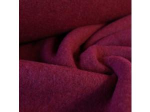 Soft Merino Cotton Fleece, mottled, PURPLE, 420g/m2, width 130 cm