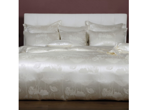 ANGELO BIANCO Silk Bed linen - Thicker Jacquard silk