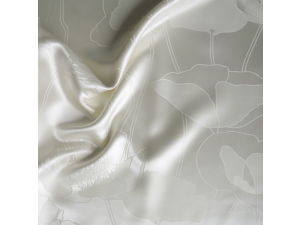 ANGELO BIANCO Silk Flat sheet - Thicker Jacquard silk