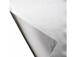 Silk flat sheet, Thicker silk - SILVER