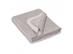 BIO Doubleface Cotton blanket - GREY Mottled