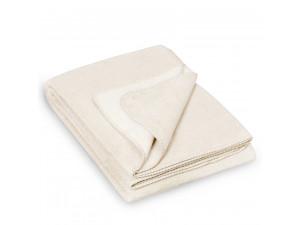 BIO Doubleface Cotton blanket - NATURAL Mottled