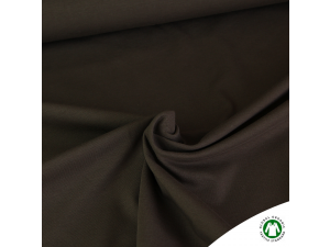 BIO Cotton Single jersey, BROWN, width 150 cm, weight 230 g/m2