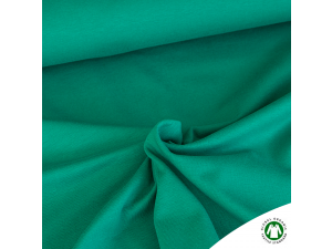 BIO Cotton single jersey, GREEN, width 150 cm, weight 230 g/m2