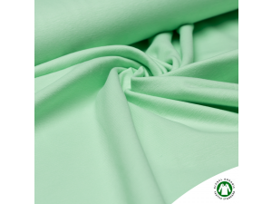BIO Cotton Single jersey, LIGHT GREEN, width 150 cm, weight 210 g/m2