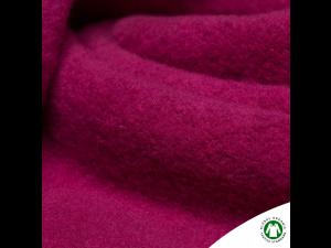 BIO Cotton Knitted Fur, PINK ROSE,  width 150 cm