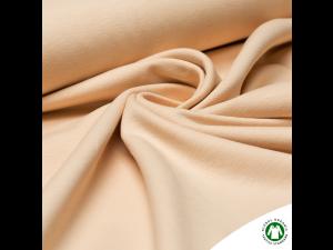 BIO Cotton Single jersey, BEIGE, width 150 cm, weight 210 g/m2