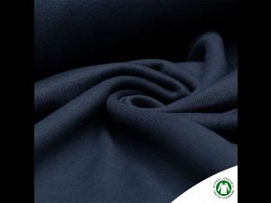 BIO Cotton Knitted Fur, DARK BLUE,  width 150 cm