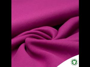 BIO cotton thicker sweet jersey, PINK, ROSE,  width 160 cm, weight 260 g/m2