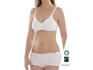 ECO Cotton Women's Non-wired Bra /bodyfit