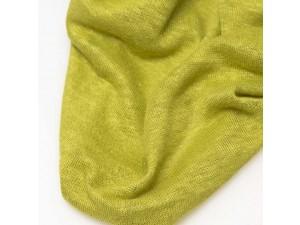 ECO Hemp Jersey, YELLOW, width 110cm, weight 130g/m2