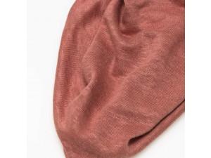 ECO Linen Jersey, PINK, width 130cm