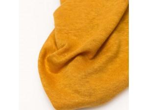 ECO Linen Jersey, YELLOW, width 130cm