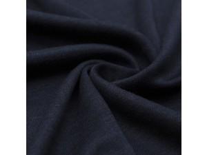 ECO Merino Silk jersey - DARK BLUE, 180 g / m2, width 150 cm