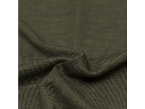 ECO Merino Silk jersey - DARK BGREEN, 180 g / m2, width 150 cm