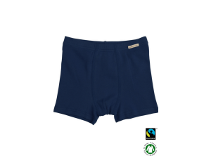 BIO Cotton boys' boxer underpants, DARK BLUE - 104 to 164