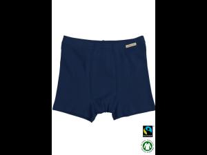BIO Cotton boys' boxer underpants, DARK BLUE - 104 to 164