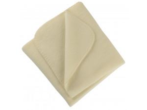 BIO Merino Fleece Baby`s Blanket, NATURAL - 80 x 100 cm
