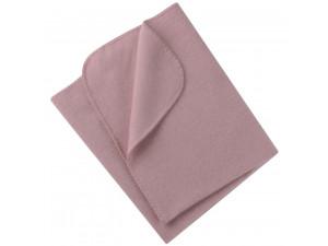 BIO Merino Fleece Baby`s Blanket, PINK - 80 x 100 cm