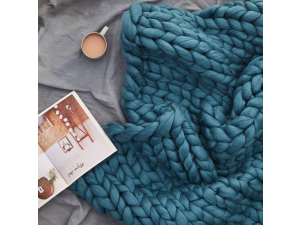 Giant Blanket Giant chunky merino wool