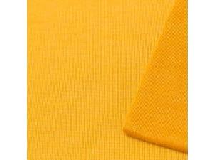 ECO Merino Silk jersey - YELLOW, 180 g / m2, width 150 cm