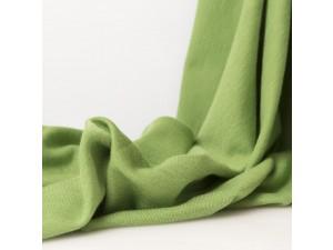 ECO Merino Silk jersey - GREEN, 180 g / m2, width 150 cm