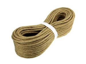 Jute rope - Ø 6 mm / pc 4,80 m