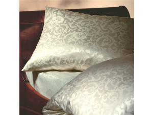 KATARINA NATURALE Silk Flat sheet - Lighter Jacquard silk