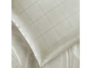 KENT NATURALE Silk Fitted sheet - Lighter Jacquard silk