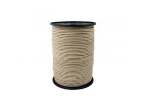 Hemp braided cord, Ø 4 mm