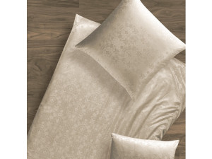 CROWN Silk Fitted sheet - Lighter Jacquard silk / 22 momme (mm)