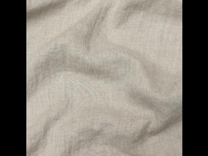 Linen Fabric - NATURAL Prewashed - 125 g/m2, width 145 cm
