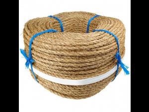 Manila rope Ø 14 mm, NATURAL, roll 220 m
