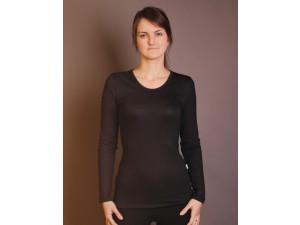 BIO Merino Women´s vest - BLACK