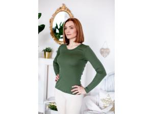 BIO Merino Women´s vest - GREEN