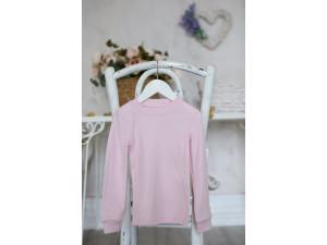 BIO Merino children's shirt - PINK -  size 122 to 152