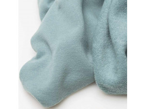 ECO Merino Knitted Terry -  ARCTIC BLUE, 250 g / m2, width 180 cm
