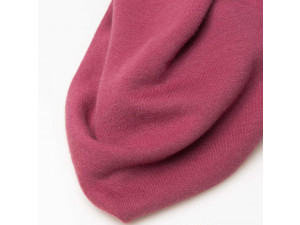 ECO Merino Knitted Terry - PINK, 250 g / m2, width 180 cm