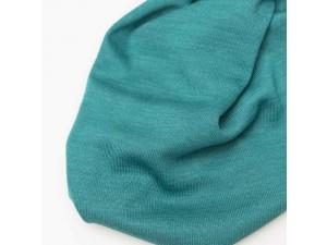 ECO Merino Silk jersey - TURQUOISE, 180 g / m2, width 150 cm