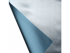Silk flat sheet, Thicker silk - BLUE