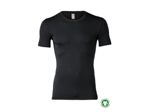 BIO Merino-Silk  Men's Sleeveles vest, BLACK
