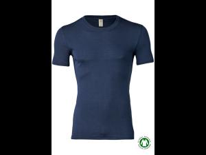 BIO Merino-Silk  Men's Sleeveles vest, BLUE