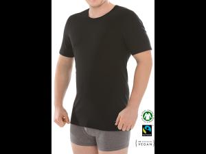 BIO Cotton Men's shirt, sleeveles - BLACK
