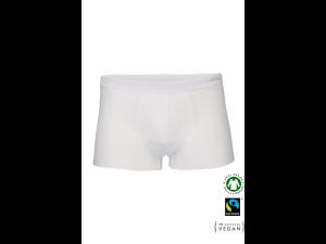 BIO Cotton Men's low boxer pants - WHITE