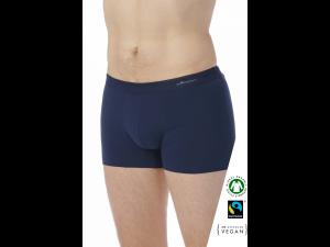 BIO Cotton Men's low boxer pants - BLUE