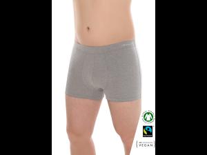BIO Cotton Men's low boxer pants - GREY